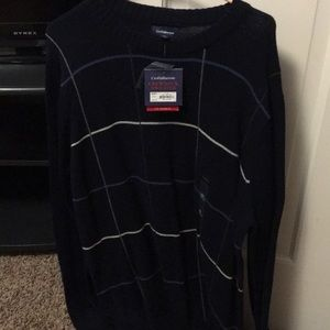 Navy sweater w tags